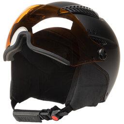 Uvex Шолом для сноуборду Uvex Hlmt 600 Visor S5662362007 Black Mat