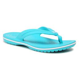 Crocs В'єтнамки Crocs Crocband Flip Gs 205778 Digital Aqua