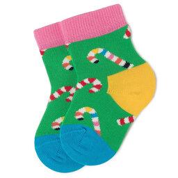 Happy Socks Ilgos Vaikiškos Kojinės Happy Socks KCC01-7300 Žalia