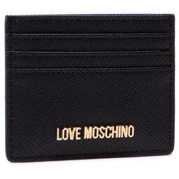 LOVE MOSCHINO Чохол для кредиток LOVE MOSCHINO JC5563PP0ALQ0000 Nero
