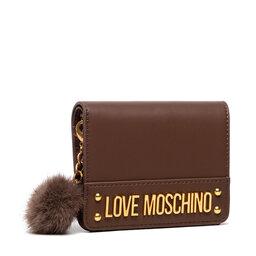 LOVE MOSCHINO Maža Moteriška Piniginė LOVE MOSCHINO JC5674PP0DKN0300 Marrone