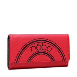 Nobo Великий жіночий гаманець Nobo NPUR-K0030-C005 Червоний