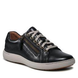 Clarks Laisvalaikio batai Clarks Nalle Lace 261591244 Black Leather