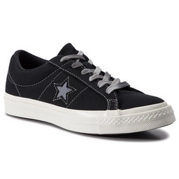 Converse Kedai Converse One Star Ox 564151C Black/Cool Grey/Egret