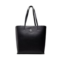 Calvin Klein Jeans Rankinės Calvin Klein Jeans Minimal Monogram Shopper29 K60K608700 Black BDS