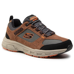 Skechers Трекінгові черевики Skechers Oak Canyon 51893/BRBK Brown/Black