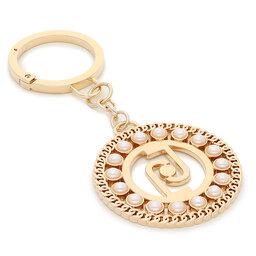 Liu Jo Брелок Liu Jo Key Ring Pearl L AF1127 A0001 Light Gold 90048