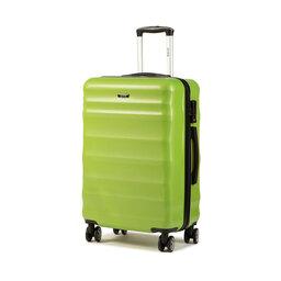 Ochnik Середня тверда валіза Ochnik WALPC-0006-24 Зелений