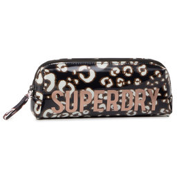 Superdry Пенал Superdry Jelly Pencil Case W9810025A Leopard Print