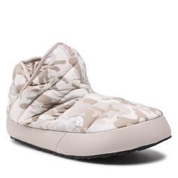 The North Face Naminės šlepetės The North Face Thermoball Traction Bootie NF0A3MKH32B1 Print/Silver Grey