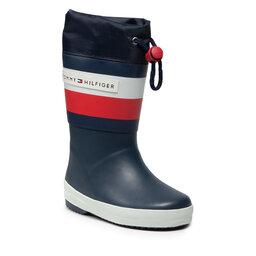 Tommy Hilfiger Guminiai batai Tommy Hilfiger Rain Boot T3X6-32105-1235 M Blue 800