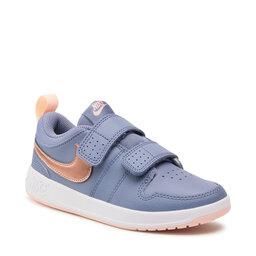Nike Взуття Nike Pico 5 (Psv) AR4161 401 World Indigo/Mtlc Red Bronze