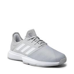 adidas Взуття adidas GameCourt M GZ8516 Gretwo/Ftwwht/Silvmt