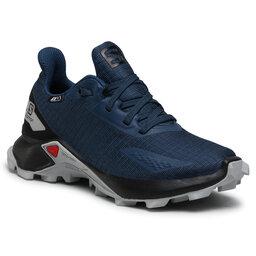 Salomon Взуття Salomon Alphacross Blast Cswp J 412907 09 V0 Dark Denim/Black/Pearl Blue