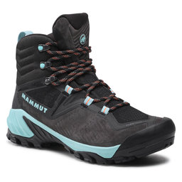 Mammut Трекінгові черевики Mammut Sapuen High Gtx GORE-TEX 3030-04250-00575-1050 Black/Dark Frosty