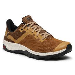 Salomon Трекінгові черевики Salomon Outline Prism 413051 27 M0 Cumin/Black/Vanilla Ice