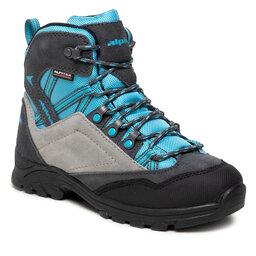 Alpina Трекінгові черевики Alpina Alv Jr 630G-2 Blue/Grey