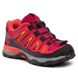 Salomon Трекінгові черевики Salomon X-Ultra Gtx J GORE-TEX 392917 09 W0 Sangria/Poppy Red/Bright Marigold