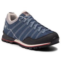 Jack Wolfskin Трекінгові черевики Jack Wolfskin Scrambler Low M 4036701 Blue/Black