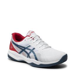 Asics Взуття Asics Gel-Game 8 Clay/Oc 1041A193 White/Mako Blue