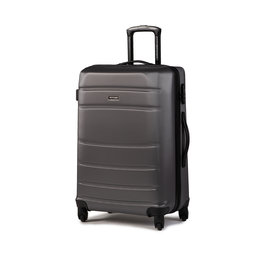 Wittchen Середня тверда валіза Wittchen 56-3A-652-01 Сірий