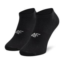 4F Набір з 3 пар низьких жіночих шкарпеток 4F H4L21-SOD008 Głęboka Czerń/Głęboka Czerń/Głęboka Czerń