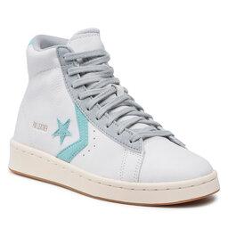 Converse Laisvalaikio batai Converse Pro Leather Hi 171607C White/Soft Aloe/Ash Stone