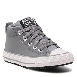 Converse Sportbačiai Converse Ctas Street Boot Mid 671520C Mason/Black/Pale Putty