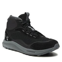 Under Armour Трекінгові черевики Under Armour Ua Charged Bandit Trek 2 3024267-001 Blk/Gry