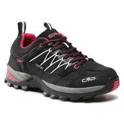 CMP Трекінгові черевики CMP Rigel Low Wmn Trekking Shoes Wp 3Q54456 Nero/Glacier 61UE