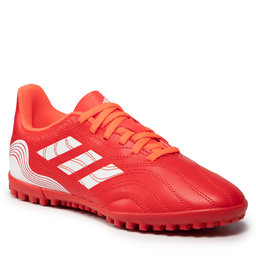 adidas Batai adidas Copa Sense.4 Tf J FY6166 Red/Ftwwht/Solred