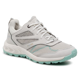 Jack Wolfskin Трекінгові черевики Jack Wolfskin Woodland Vent Low W 4039251 Light Grey/Light Green