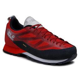 Jack Wolfskin Трекінгові черевики Jack Wolfskin Scrambler 2 Texapore Low M 4045461 Black/Red