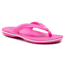 Crocs В'єтнамки Crocs Crocband Flip Gs 205778 Electric Pink