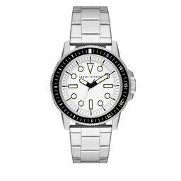 Armani Exchange Laikrodis Armani Exchange Leonardo AX1853 Silver/Black