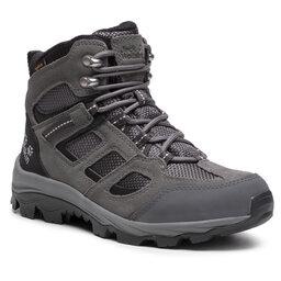 Jack Wolfskin Трекінгові черевики Jack Wolfskin Vojo 3 Texapore Mid W 4042471 Tarmac Grey/Pink