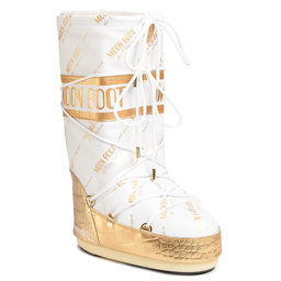 Moon Boot Снігоходи Moon Boot Classic 50 All Over 14025700001 White/Gold