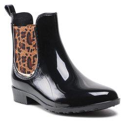 Les Tropeziennes Гумові чоботи Les Tropeziennes Rainboo 40152 Black/Leopard