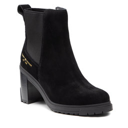 Tommy Hilfiger Aulinukai Tommy Hilfiger Th Outdoor High Heel Boot FW0FW05998 Black BDS