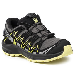 Salomon Трекінгові черевики Salomon Xa Pro 3D Cswp J 411241 09 V0 Gargoyle/Black/Charlock