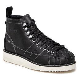 adidas Batai adidas Superstar Boot H00241 Cblack/Owwhite/Owwhite
