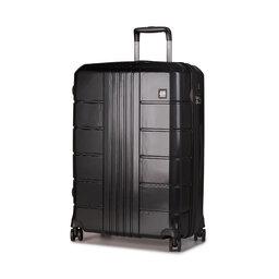 Wittchen Велика тверда валіза Wittchen 56-3P-823-10 Чорний