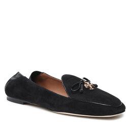 Tory Burch Mokasinai Tory Burch Charm Loafer 79298 Perfect Black/Perfect Black 004