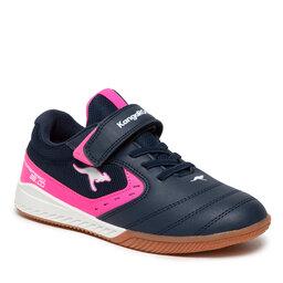KangaRoos Batai KangaRoos K5-Court Rv 18767 000 4134 S Dk Navy/Neon Pink
