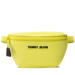 Tommy Jeans Rankinė ant juosmens Tommy Jeans Tjw Pu Bumbag Emboss Patent AW0AW11019 GRN