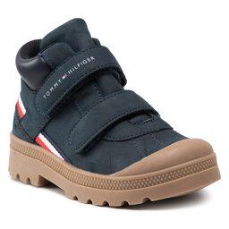 Tommy Hilfiger Auliniai batai Tommy Hilfiger Mid Cut Velcro Shoe T1B4-32085-1269 S Blue 800