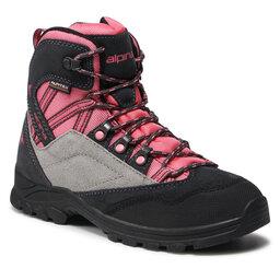 Alpina Трекінгові черевики Alpina Alv Jr 630G-4K Pink/Grey