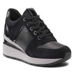 Geox Laisvalaikio batai Geox D zosma C D168LC 02285 C9999 Black