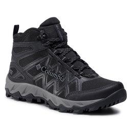 Columbia Трекінгові черевики Columbia Peakfreak X2 Mid Outdry BL0828 Black/Titanum II 010