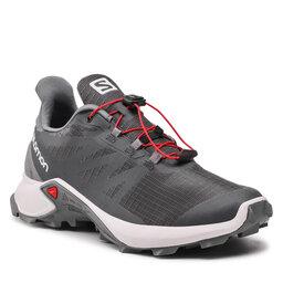 Salomon Взуття Salomon Supercross 3 Gtx GORE-TEX 414504 26 W0 Ebony/Lunar Rock/Quiet Shade